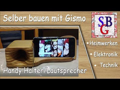 Relativ Handy Halter - Lautsprecher - Verstärker - YouTube DX41