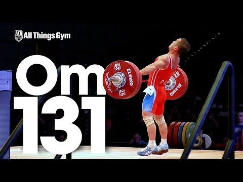 Om Yun Chol (56kg, North Korea) 131kg Snatch 2015 World Weightlifting Championships