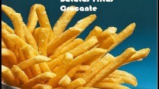 Como Fazer Batata Frita Igual de McDonal'd