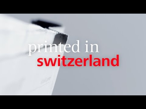Viscom «Printed in Switzerland»: Zeitung