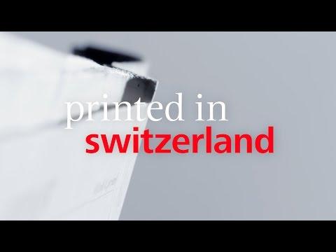 Viscom «Printed in Switzerland»: Zeitung