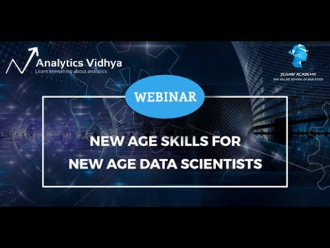 Webinar on New Age Skills for New Age Data Scientists