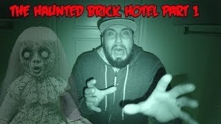 SPENDING 24 HOURS IN THE MOST HAUNTED HOTEL IN THE WORLD (PART 1)