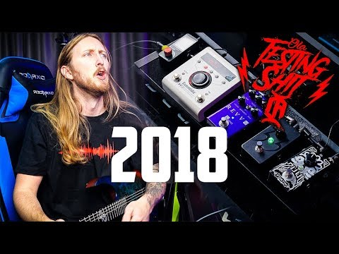ULTIMATE METAL PEDAL BOARD 2018 - My top pedals of 2018