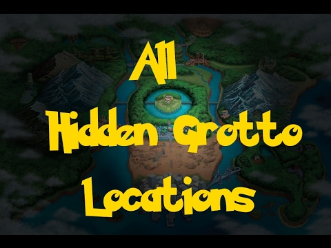 All hidden grotto locations pokemon black 2white 2 youtube all hidden grotto locations pokemon black 2white 2 gumiabroncs