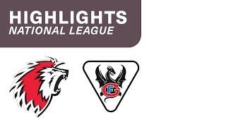 Lausanne HC vs. Fribourg Gottéron 3:0 - Highlights National League