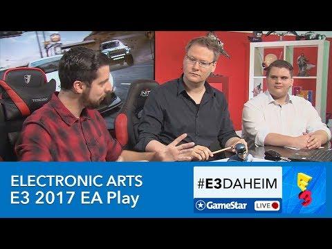 Electronic Arts E3 2017 - #E3Daheim-Livestream zu EA Play mit Fifa 18, Battlefront 2, Need for Speed