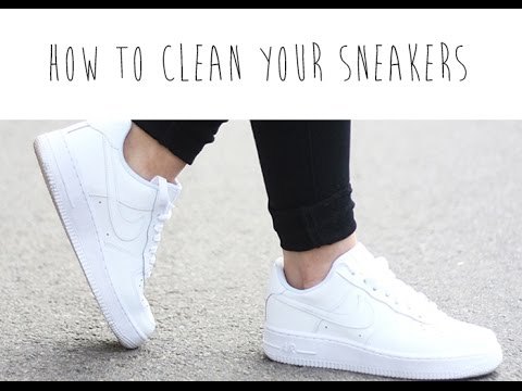 HOW TO CLEAN YOUR SNEAKERS DIY