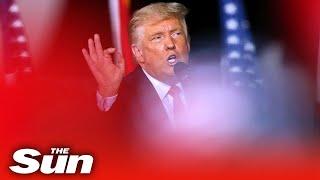 Donald Trump continues campaign push in Lumberton, North Carolina