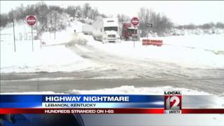 Storm left Ky. interstates packed with stranded motorists