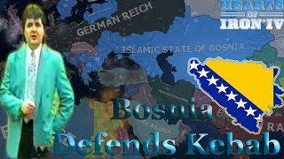 Hearts of Iron 4: ISLAMIC BOSNIA DEFENDS KEBAB!