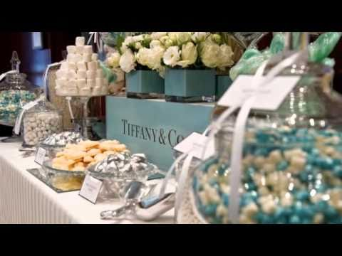 Tiffany And Co Candy Buffet Youtube