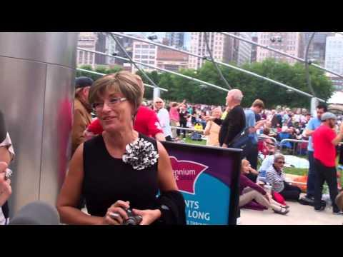 Renée Fleming at Millennium Park