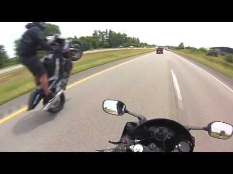 JedGoingHam- Long Wheelie (Cedar Rapids to Iowa City)