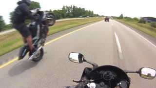 JedGoingHam- Long Wheelie (Cedar Rapids to Iowa City)
