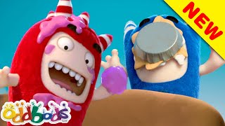 ODDBODS | Pie Smacking Thanksgiving | Cartoons For Children