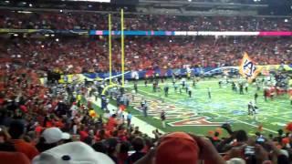 Auburn Wins 2010 SEC Championship - Cam Newton running around