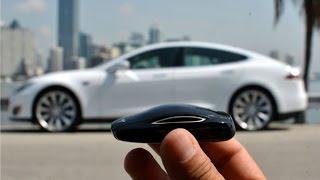 Pruebas con la llave del Model S