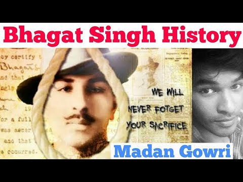 Bhagat Singh History   Tamil   Madan Gowri   MG