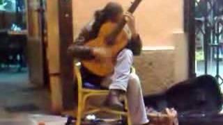 Mallorca spanish Guitar player