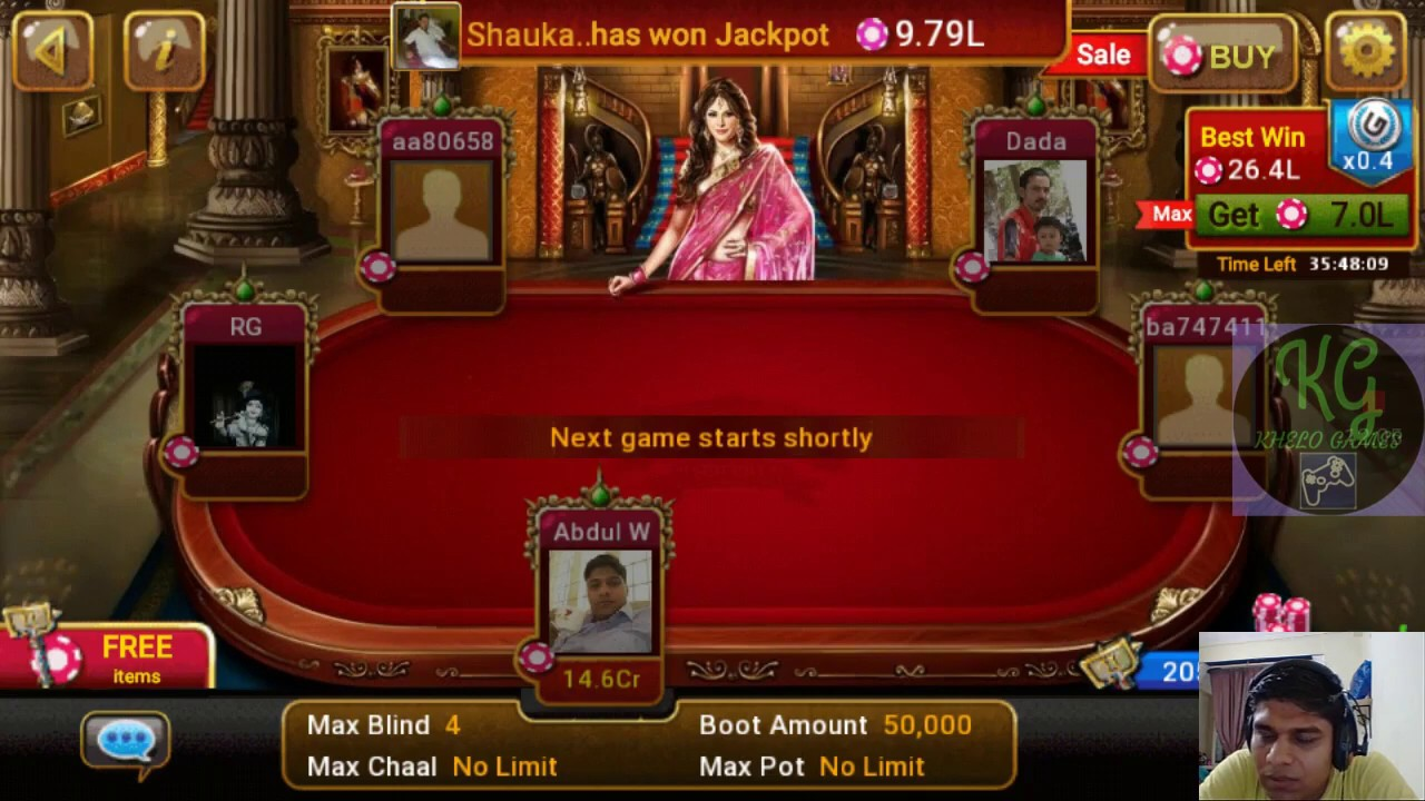 Teen patti no wifi games for iPhone