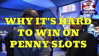 Why It's Hard To Win on Penny Slot Machines with Slot Machine Expert Frank Legato