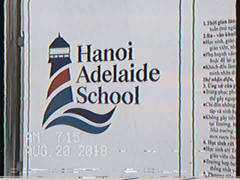 Hanoi Adelaide School: First day of school