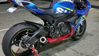 2011 plus Suzuki GSXR 600 750 ASR carbon slip on. Available for old...