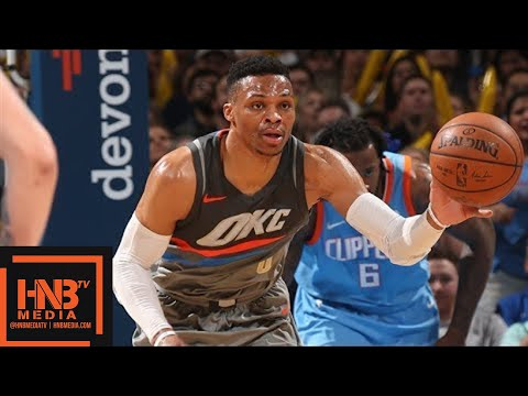 Oklahoma City Thunder vs LA Clippers Full Game Highlights / March 16 / 2017-18 NBA Season