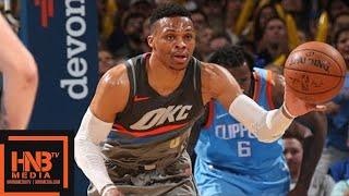 Oklahoma City Thunder vs LA Clippers Full Game Highlights / March 16 / 2017-18 NBA Season