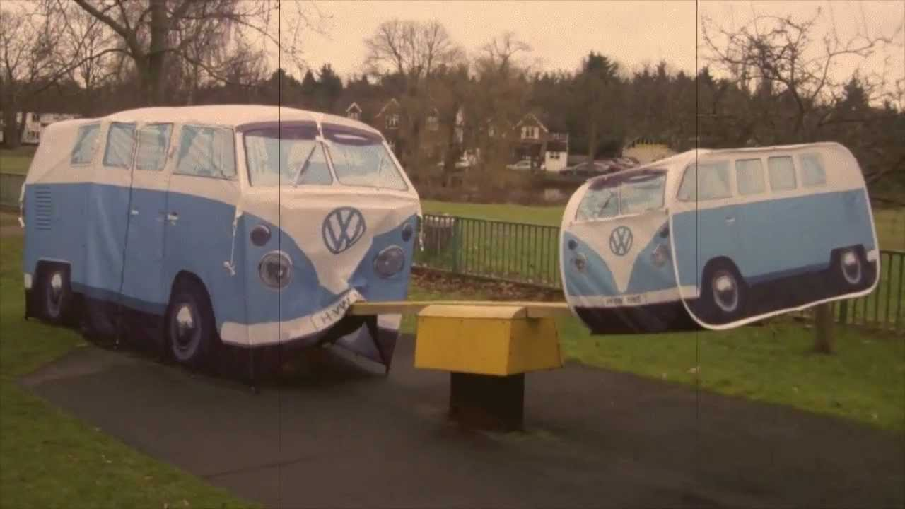 Kids VW C&er Van Tent - YouTube & Playing at the Park... Kids VW Camper Van Tent - YouTube
