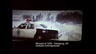 Blizzard of 1978 - Twinsburg, Oh