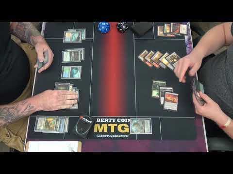 FNM 08-24-18 Round 2 Bant Nexus vs Jund Ramp