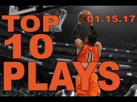 Veja o video – Top 10 NBA Plays of the Night: 01.15.17