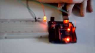 видео Мигающий светодиод на Arduino