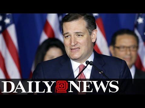 Ted Cruz suspends Presidential Campaign