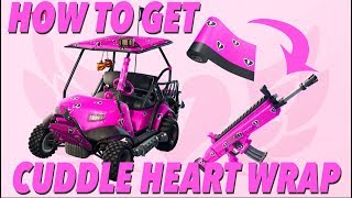 How to get CUDDLE HEART WRAP! (FORTNITE)