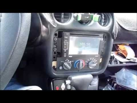 Double DIN Radio Install in 1998 Pontiac Firebird - YouTube