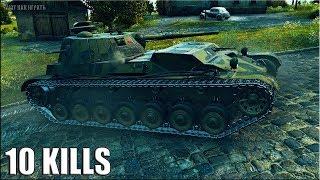 А-44 Колобанов, Пул и ПОТНЫЕ РУКИ 🌟 10 фрагов 🌟 World of Tanks лушчий бой на ст А 44