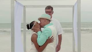 Florida Beach Wedding - St Pete Beach - Pass A Grill Beach