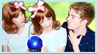 YOUTUBER PREDICTIONS with THE PSYCHIC TWINS!