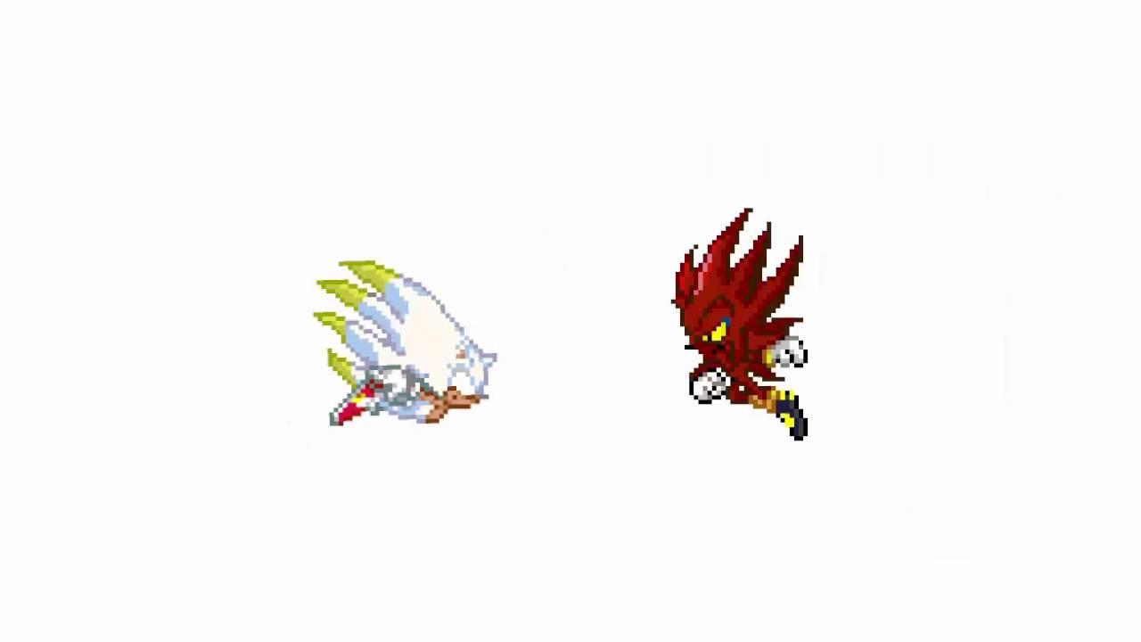true hyper sonic vs super shadow and nazo