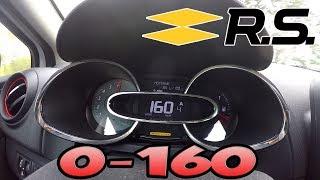 Test 0-160 km/h Clio 4 RS 200