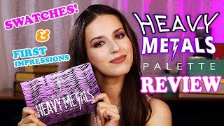 Video SWATCHES and First Impressions of the Urban Decay Heavy Metals Palette download MP3, 3GP, MP4, WEBM, AVI, FLV Oktober 2018