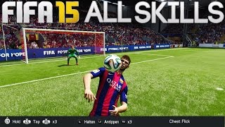 FIFA 15 ALL SKILLS TUTORIAL | HD