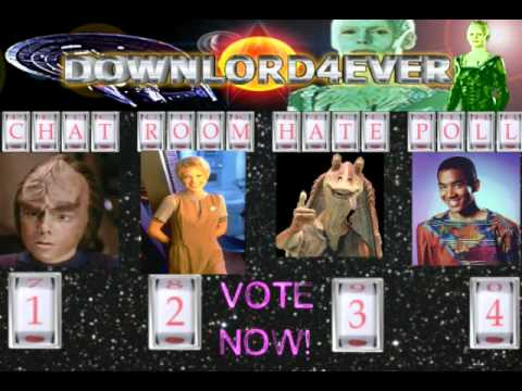 Downlord Downlord4ever Sebastian Kunz Star Trek Hate Poll 2