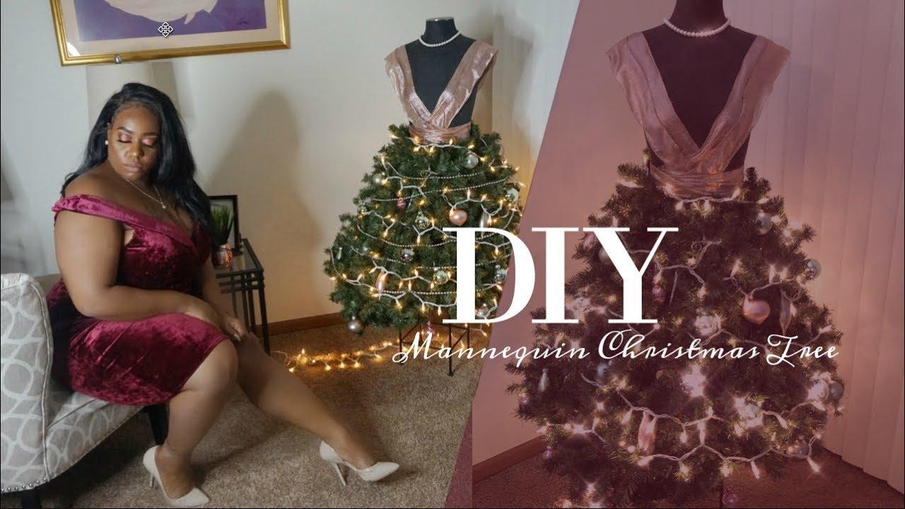 Diy Mannequin Xmas Tree Youtube