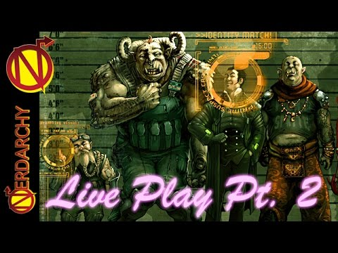 Dragon Fire and Guns| Shadow Run in Cypher System Game Play Session 4 Part 2