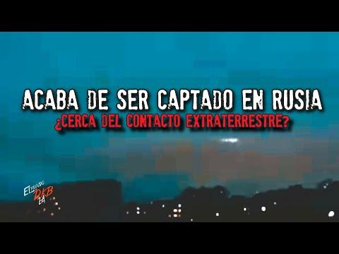 Acaba de ser captado en RUSIA | Contacto Extraterrestre