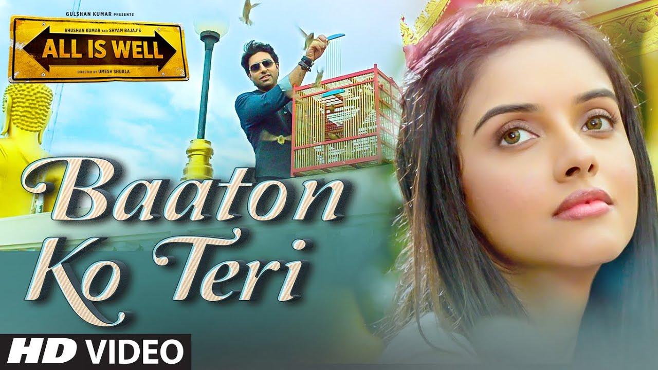 Download 'Baaton Ko Teri' VIDEO Song | Arijit Singh | Abhishek Bachchan, Asin | T-Series